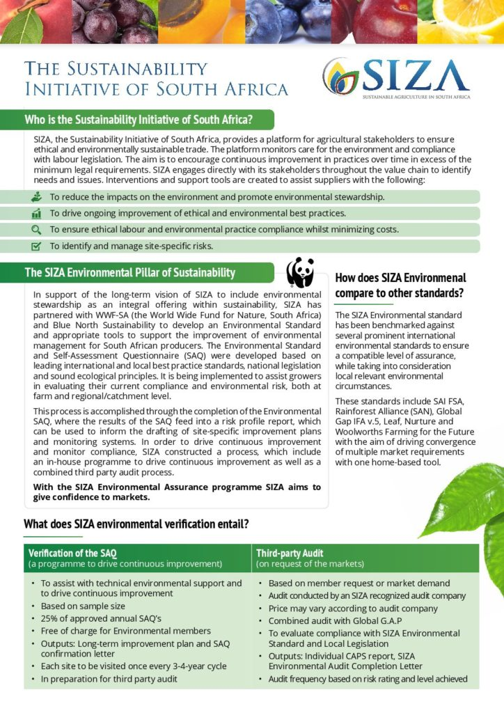 ENVIRONMENTAL AUDITS – The Sustainability Initiative of